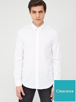armani-exchange-classic-long-sleeve-shirt-white