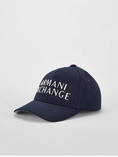 armani-exchange-logo-baseball-cap-navy
