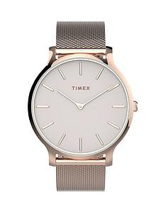 timex-timex-transcend-blush-38mm-dial-rose-gold-stainless-steel-mesh-strap-watch