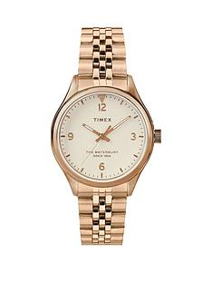 timex-timex-waterbury-white-34mm-dial-rose-gold-stainless-steel-bracelet-watch