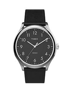 timex-timex-black-easy-read-dial-black-leather-strap-watch