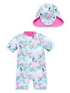 v-by-very-girls-safari-sunsafe-amp-hat-multi