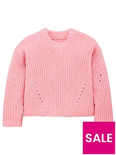 v-by-very-girls-chunky-knitted-jumper-pink