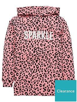 v-by-very-girls-sparkle-animal-longline-hoodie-pink