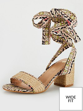 v-by-very-bree-wide-fit-tie-leg-sandal-print