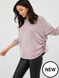 religion-oversized-dawn-jumper-lilac