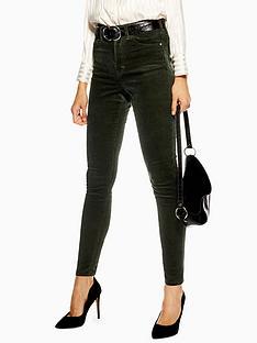 topshop-topshop-cord-jamie-jeans-32-green