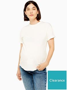topshop-topshop-maternity-raw-hem-t-shirt-white