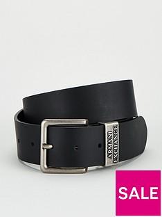 armani-exchange-classic-leather-jeans-belt-black