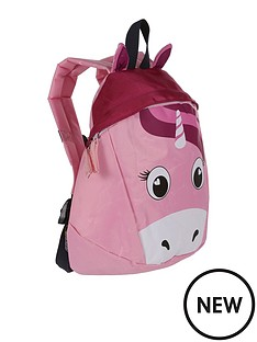 regatta-little-adventurers-roary-unicorn-backpack-pink