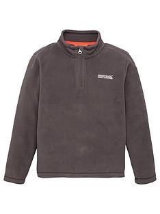 regatta-boys-hot-shot-ii-14-zip-fleece-black
