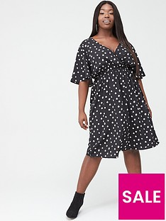 v-by-very-curve-spotnbspwrap-dress