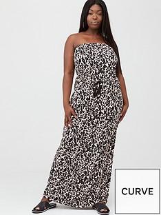 v-by-very-curve-bandeau-jersey-maxi-dress-animal-print