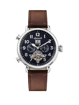 ingersoll-ingersoll-muse-black-and-silver-detail-daydate-skeleton-eye-automatic-dial-brown-leather-strap-watch