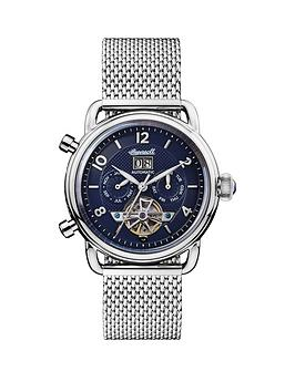 ingersoll-ingersoll-new-england-navy-daydate-skeleton-eye-automatic-dial-stainless-steel-mesh-strap-watch