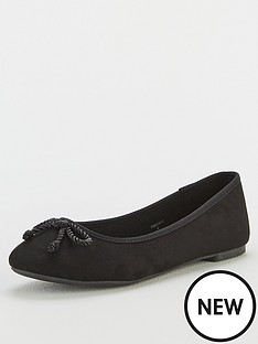 v-by-very-mariah-round-toe-ballerina-shoes-black