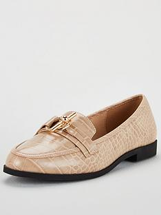 v-by-very-mandy-wide-fit-trim-loafer-nude