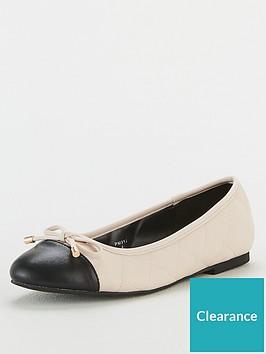 v-by-very-melissa-toe-cap-ballerina-shoes-cream
