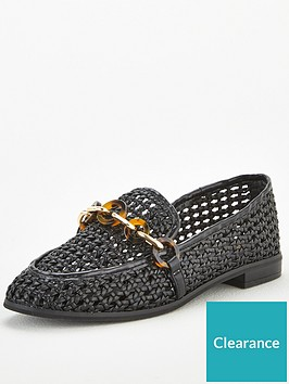v-by-very-mase-chain-basket-weave-loafer-blacknbsp