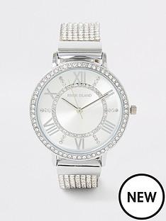 river-island-river-island-diamante-strap-watch-silver