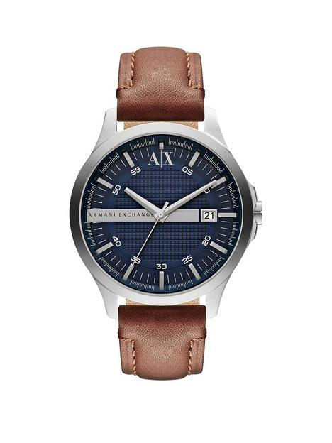 armani-exchange-blue-date-dial-tan-leather-strap-mens-watch