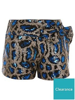 river-island-girls-leopard-print-sequin-bow-shorts-multi
