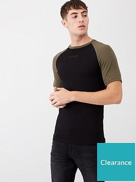 river-island-black-r96-raglan-muscle-fit-t-shirt