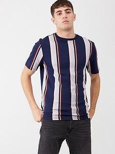 river-island-navy-stripe-short-sleeve-t-shirt