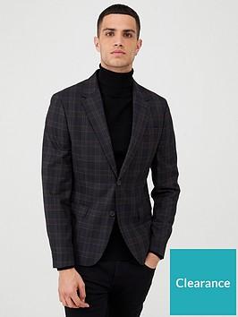 river-island-check-skinny-fit-suit-jacket-navynbsp