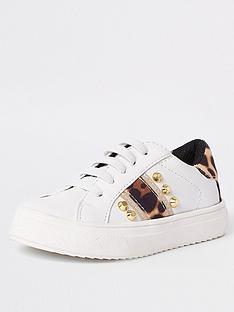 river-island-mini-mini-girls-leopard-studded-trainers-white