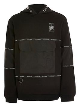 river-island-boys-active-oversized-pocket-hoodie--nbspblack