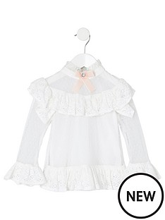 river-island-mini-mini-girls-lace-bow-collar-blouse-white