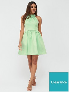 v-by-very-organza-bow-back-mini-prom-dress-mint