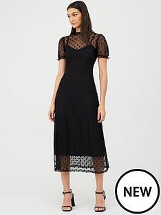 v-by-very-spot-mesh-midi-dress-black