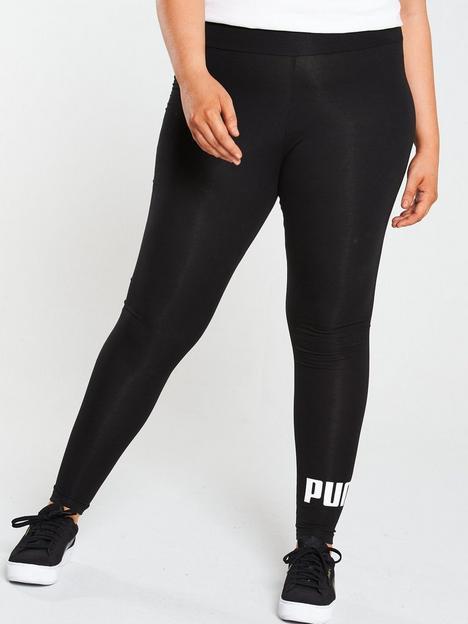 puma-essential-logo-leggings-plus-black