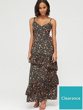 v-by-very-tie-sleeve-tiered-midaxi-dress-print