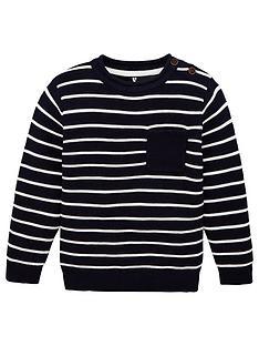 v-by-very-boys-striped-jumper-navy