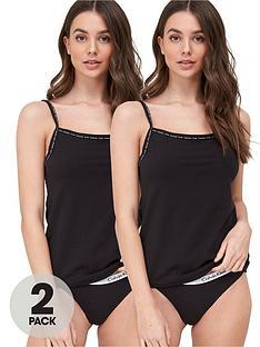 calvin-klein-camisole-2-pack-black