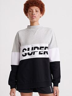 superdry-sport-pusher-crew-neck-top-black