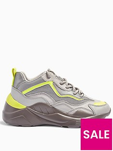 topshop-cancun-chunky-trainers-grey