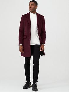 river-island-berry-overcoat