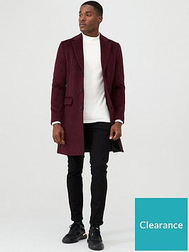 river-island-berry-overcoat