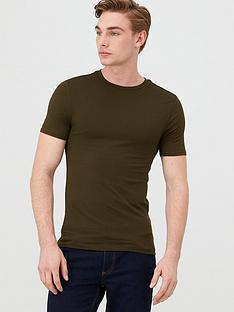 river-island-short-sleeve-essential-muscle-t-shirt