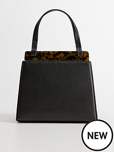 mango-mini-tortoise-shell-bag-black