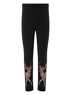 monsoon-girls-halle-reindeer-sequin-leggings-navy