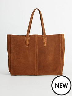 mango-suede-oversized-tote-bag