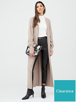 v-by-very-cable-detail-longline-cardigan-cream