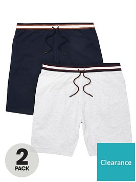 river-island-prolific-2-pack-shorts