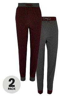 river-island-giant-monogram-2-pack-joggers