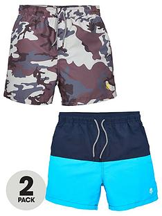 v-by-very-boys-2-pack-swim-shorts-camocolour-blocknbsp